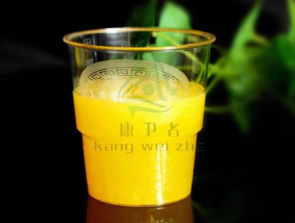 航空餐具 ——  一次性水晶杯